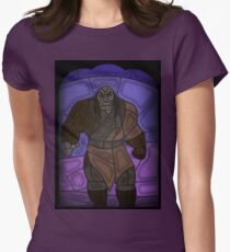 Warlord - stained glass villains Women's Fitted T-Shirt