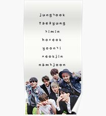 BTS phone case #14 Poster
