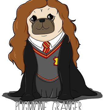 Pugmionie Granger! by jennisney