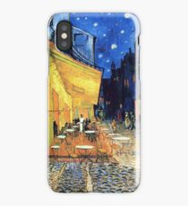 Vincent van Gogh - The Cafe Terrace on the Place de Forum in Arles at Nigh iPhone Case