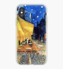 Vincent van Gogh - Die Café-Terrasse auf dem Place de Forum in Arles bei Nacht iPhone-Hülle & Cover