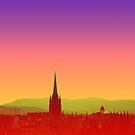Edinburgh Skyline by C.J. Jackson