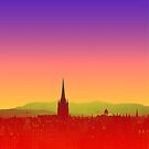 Edinburgh Skyline by Chris Jackson