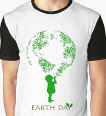 Earth Day Child Graphic T-Shirt