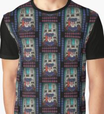 Notre dame calls - stained glass villains Graphic T-Shirt