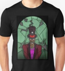 Voodoo Doctor - stained glass villains Unisex T-Shirt