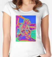 Blue Sky Women's Fitted Scoop T-Shirt