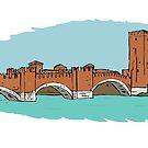 Castel Vecchio Bridge,Verona by Logan81