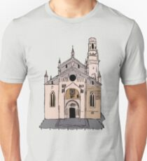 Verona Cathedral Unisex T-Shirt