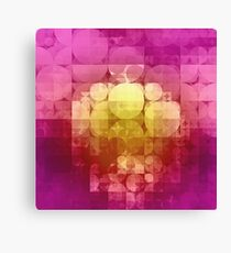 matted geometry Canvas Print