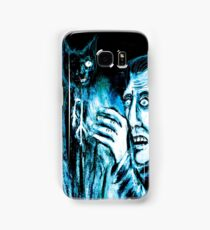 The Black cat reveals the gallows Samsung Galaxy Case/Skin