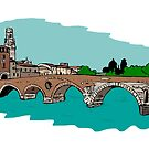 Stone Bridge,Verona by Logan81