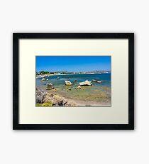 Kathara Beach Framed Print