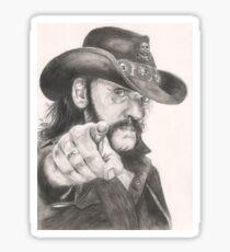 Lemmy Kilmister of Motorhead Sticker