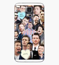 Funda/vinilo para Samsung Galaxy Collage de Chris Evans