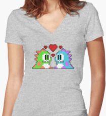 Bub nd Bob Women's Fitted V-Neck T-Shirt