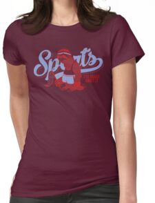 Sports? Womens Fitted T-Shirt