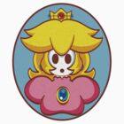 Shy Guy Princess Peach by gbetancourt