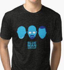 Breaking Bad - Blue Man Group v02 Tri-blend T-Shirt
