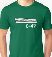 C-47 (for dark shirts) Unisex T-Shirt