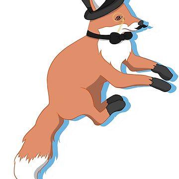Fancy Fox by SachikoKawamura