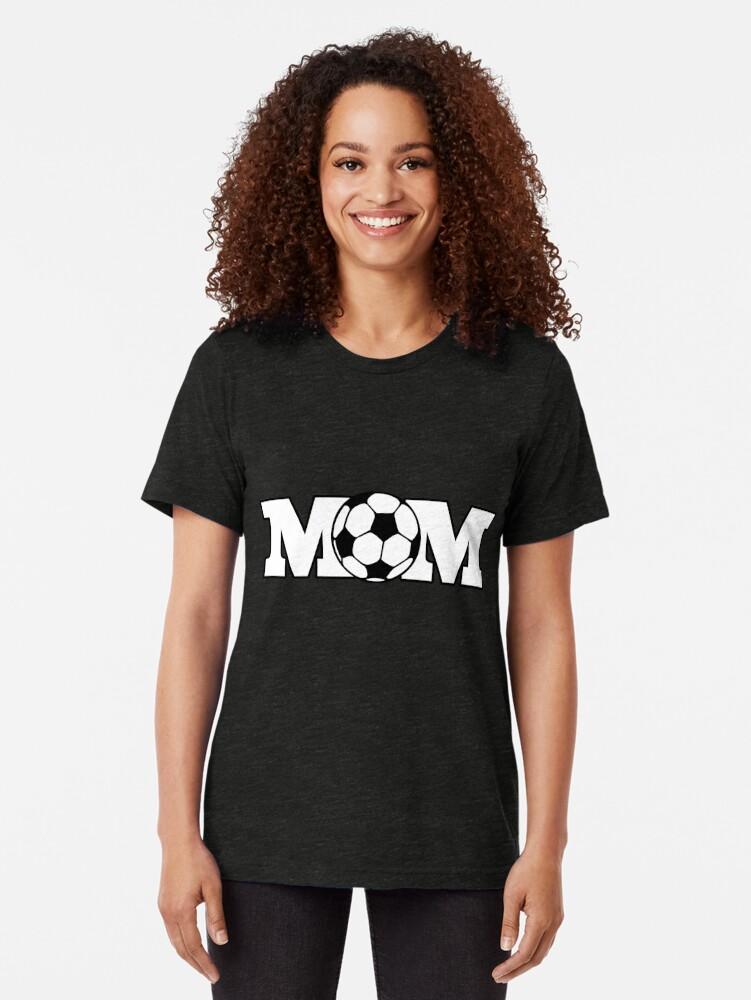 Alternative Ansicht von Fußball-Mutter Vintage T-Shirt