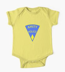 Jaws Amity Police patch One Piece - Short Sleeve