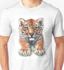 Playful Tiger Cub 907 T-Shirt