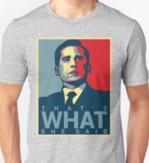 Michael Scott - That's What She Said Unisex T-Shirt