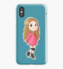 Tiffany I just wanna dance chibi iPhone Case