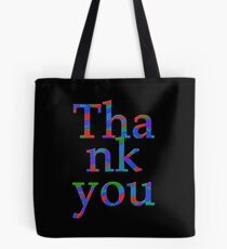 Thank You colors Tote Bag