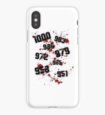 1000 minus 7 Tokyo Ghoul iPhone Case/Skin