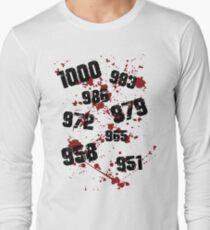 1000 minus 7 Tokyo Ghoul Long Sleeve T-Shirt
