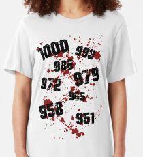 1000 minus 7 Tokyo Ghoul Slim Fit T-Shirt