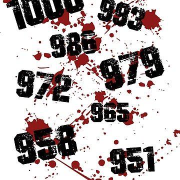1000 minus 7 Tokyo Ghoul by MisterNightmare