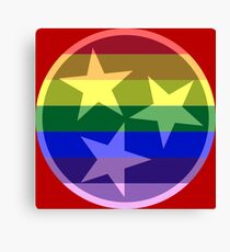 Tennessee Pride Flag Canvas Print