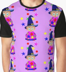 A Boy Wizard  – No6d in the Toon Boy series Graphic T-Shirt