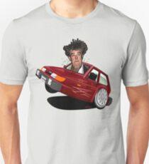 Reliant Robin Jeremy Clarkson caricature T-Shirt