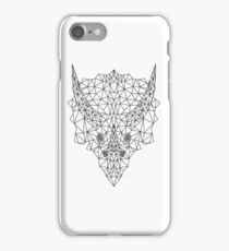 Polygon Triceratops iPhone Case/Skin