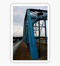 Pedestrian Bridge in Chattanooga,TN Sticker