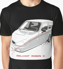 Reliant Robin 3 Graphic T-Shirt