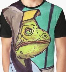 Cab Hoodie Lizard Graphic T-Shirt