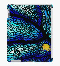 Blue Stained Glass Merchandise iPad Case/Skin