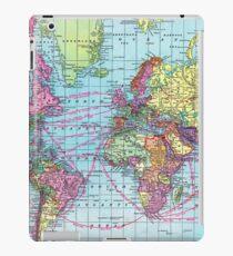 Around the world.. Travel Free! iPad Case/Skin