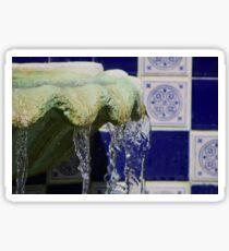 Fountain Sticker