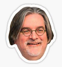Matt Groening Sticker