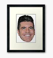 Simon Cowell Framed Print