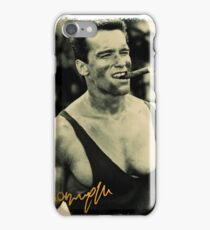 arnold schwarzenegger signature iPhone Case/Skin