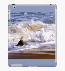 Tides frothy waves iPad Case/Skin