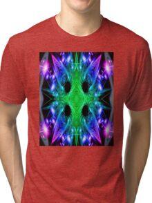 Alien Snowflake Tri-blend T-Shirt
